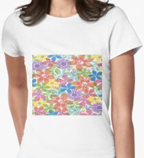 Spring Flowers Women's Fitted T-Shirt