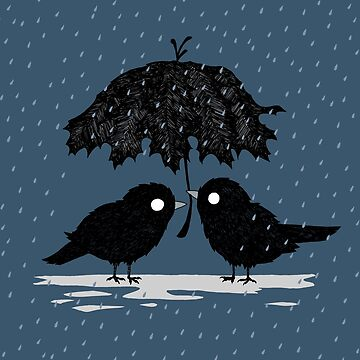 Birds in the Rain by djrbennett