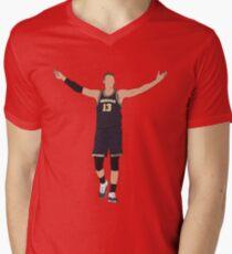 Moritz Wagner Embrace The Crowd Men's V-Neck T-Shirt
