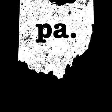 Pa  Ohio  Best Grandpa Papa by shoppzee
