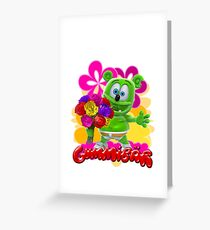 gummy bear drawing greeting cards redbubble