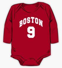 Jack Eichel - BU #9 - red jersey One Piece - Long Sleeve