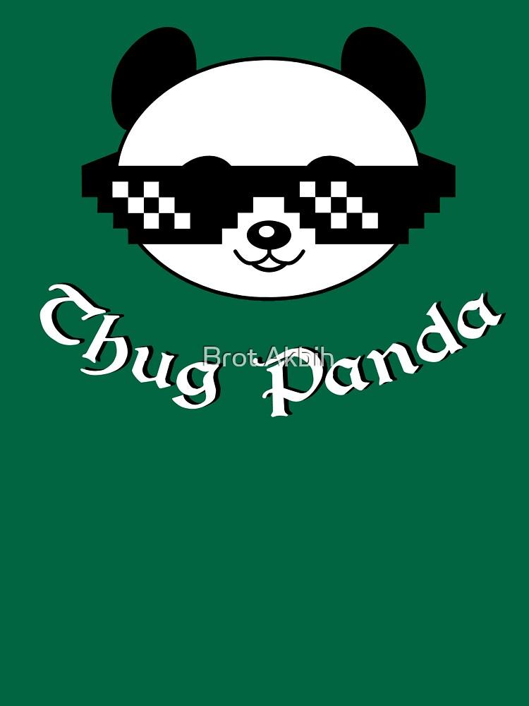 Thug Panda Cute T Shirt Unisex T Shirt By Delafont Redbubble