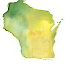 Green and Gold - Wisconsin by PrettyGeekChic