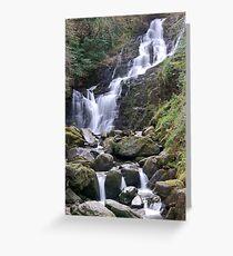 Torq Waterfall, Co Kerry, Ireland Greeting Card
