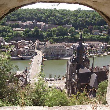 Dinant, Belgium by bubblemonkey