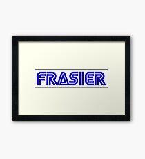Frasier Sega Framed Print