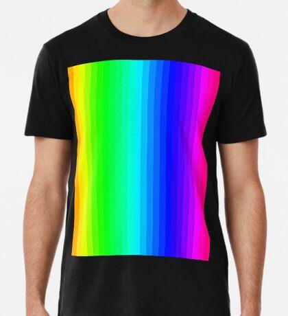 Stripes001 - Rainbow  Premium T-Shirt