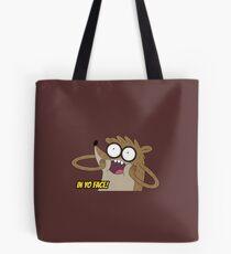 Rigby In Yo Face ! Tote Bag