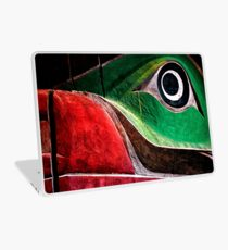 Wooden Animal Totem Laptop Skin
