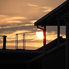 Rooftop Sunset by stevendrowe