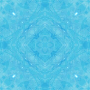 Light Blue Kaleidoscope by karimala