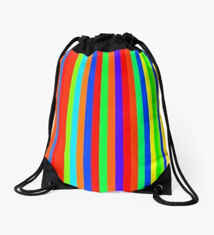 Stripes 003 Drawstring Bag