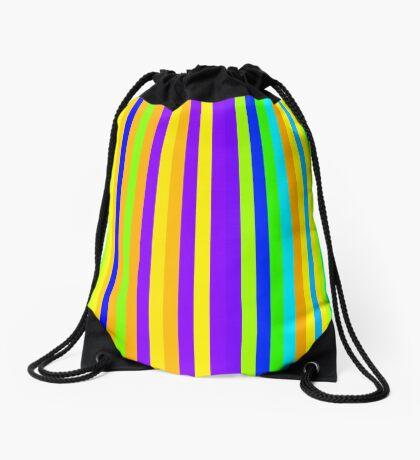 Stripes 002 Drawstring Bag