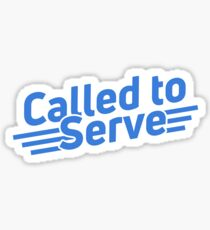 Called to Serve LDS Missionary Sticker