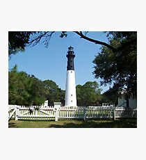 Hunting Island Lighthouse Photographic Print