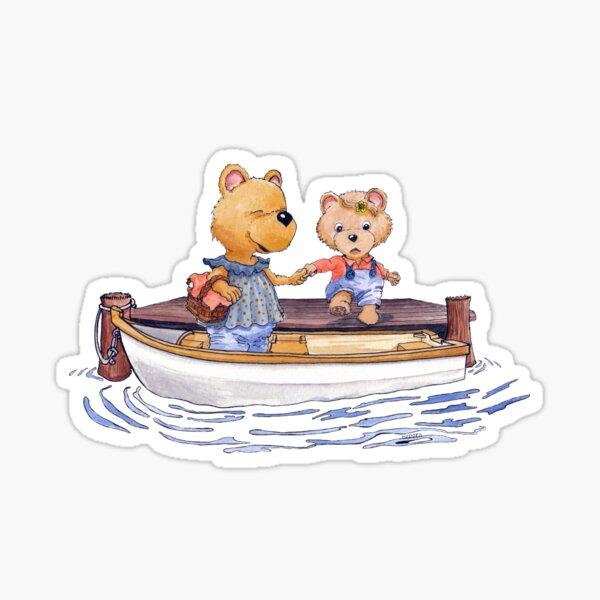 The boat trip Sticker