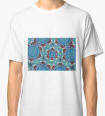 Abstract butterfly background Classic T-Shirt