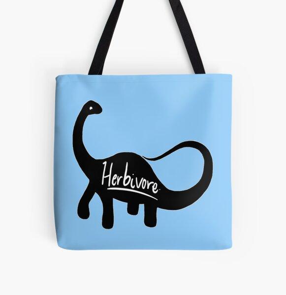 Herbivore - Dinosaur  All Over Print Tote Bag