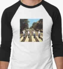 Walmart Yodeling Abbey Road Baseball ¾ Sleeve T-Shirt