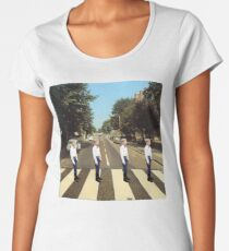 Walmart Yodeling Abbey Road Women's Premium T-Shirt