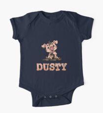 Dusty Schweinchen Baby Body Kurzarm