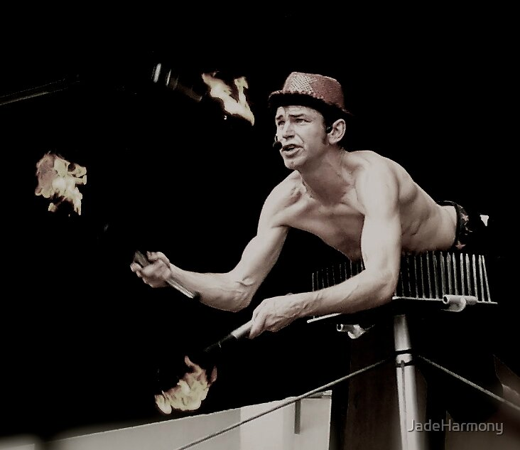 Juggling Fire by JadeHarmony