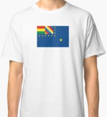 Naval Ensign of Bolivia  Classic T-Shirt