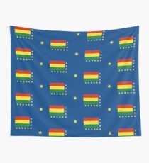 Naval Ensign of Bolivia, 1966-2013 Wall Tapestry
