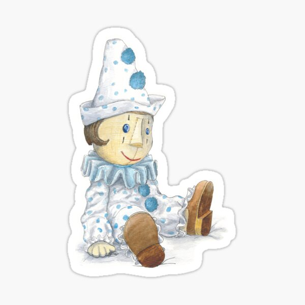 Little Pierrot  Sticker