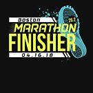 Boston Marathon 2018 by oddduckshirts