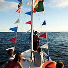 Kids on deck by mrfotos