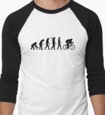 Evolution cycling bicycle Men's Baseball ¾ T-Shirt
