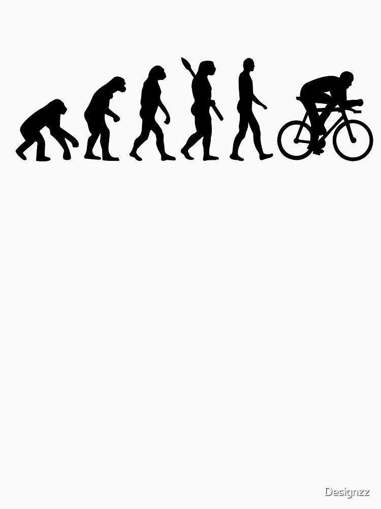 Evolution cycling bicycle | Unisex T-Shirt
