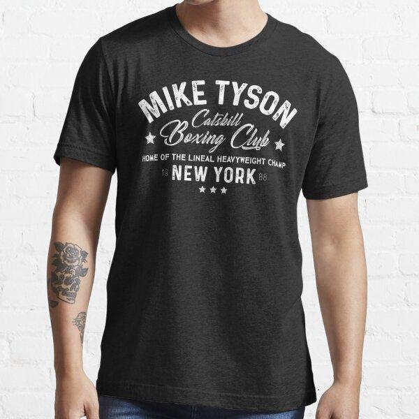 Mike Tyson - Catskill Boxing Club - White Essential T-Shirt