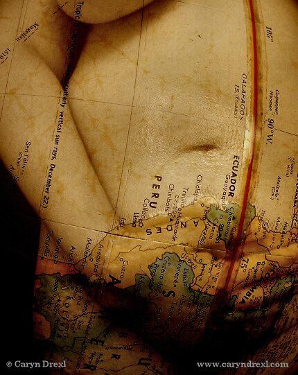 A Woman's Body - Mapped by Caryn Drexl