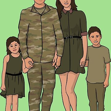 Strong Family - Military by AquaMarine21
