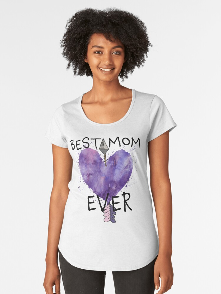 Best Mom Ever Mother's Day T-shirt Women's Premium T-Shirt Front