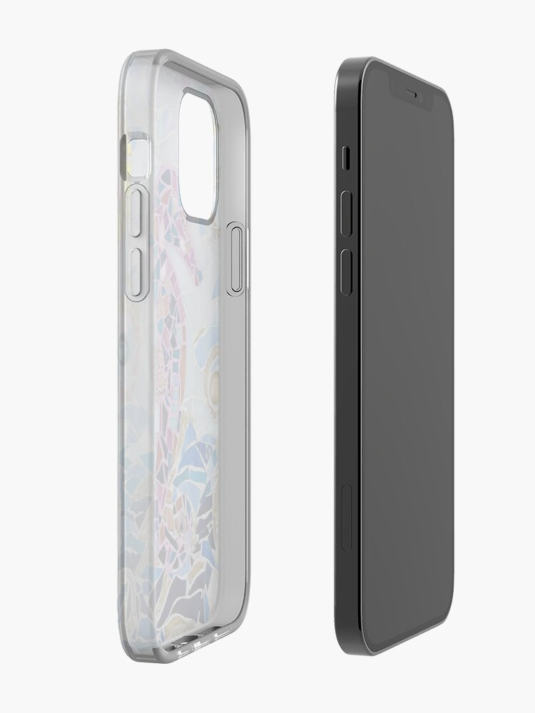 Alternate view of Seahorse Mosaic iPhone Case & Cover