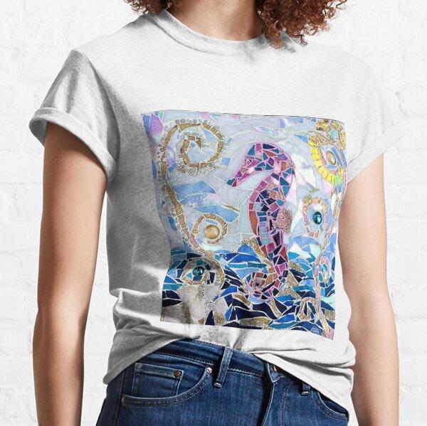 Seahorse Mosaic Classic T-Shirt