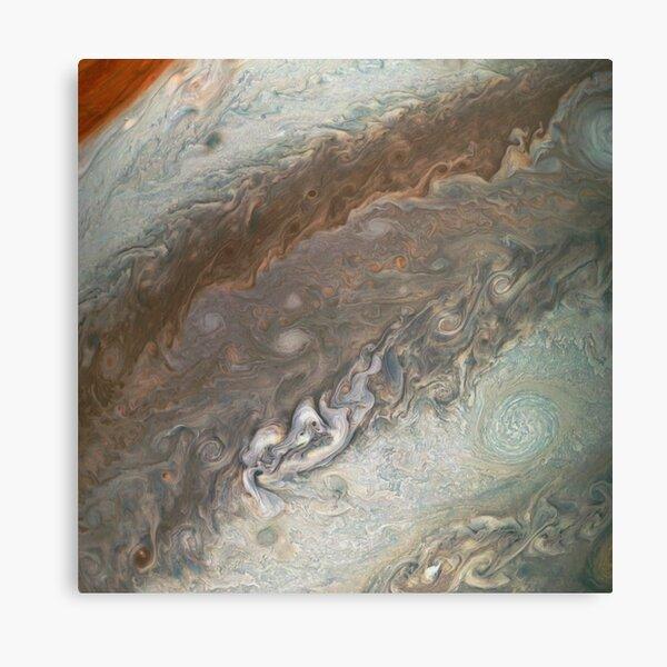 Jupiter, Perijove 12_94 pattern Canvas Print