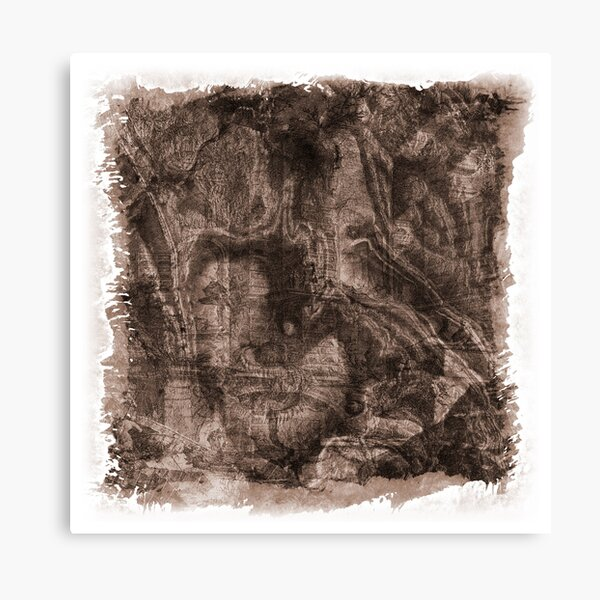 The Atlas of Dreams - Plate 38 Canvas Print