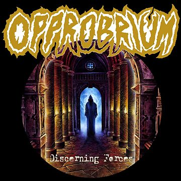 Opprobrium - Discerning Forces (Round) by opprobriumstore