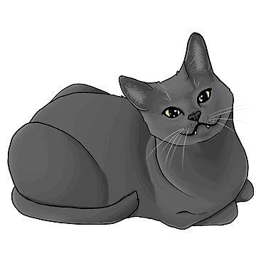 Rocky Cat by Kitzeles