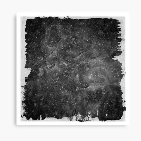 The Atlas of Dreams - Plate 37 (b&w) Canvas Print