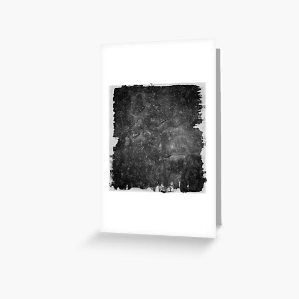 The Atlas of Dreams - Plate 37 (b&w) Greeting Card