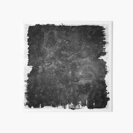 The Atlas of Dreams - Plate 37 (b&w) Art Board Print