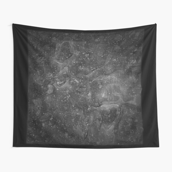 The Atlas of Dreams - Plate 37 (b&w) Tapestry