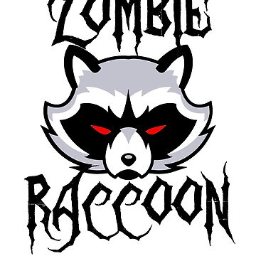 Ohio Zombie Raccon by Terrystees