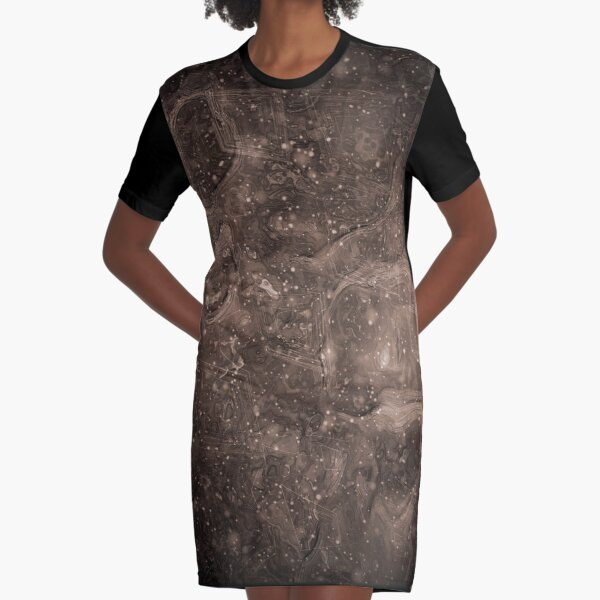 The Atlas of Dreams - Plate 37 Graphic T-Shirt Dress